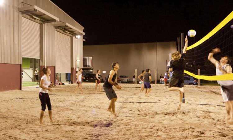 Beach Volleyball Quads Brisbane Springfield Ipswich