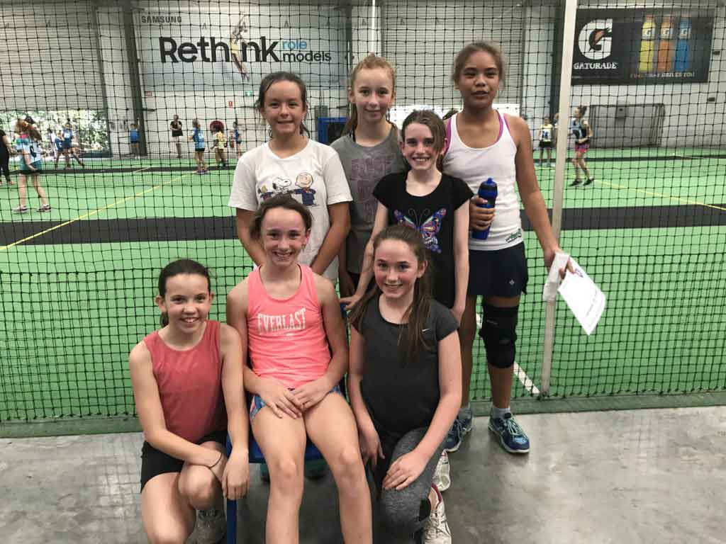 Junior Netball Kids Sport